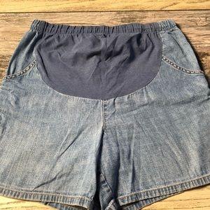 Pants - Pregnancy Jean Shorts Size 12